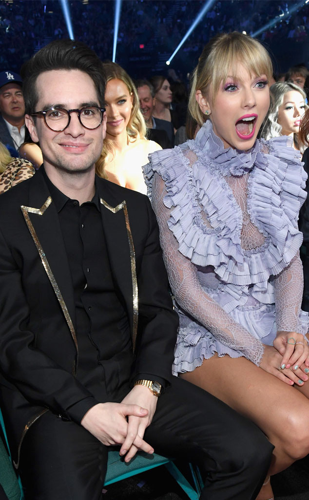 Brendon Urie, Taylor Swift, 2019 Billboard Music Awards